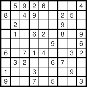 2014-07-22 Sudoku Puzzle - 300