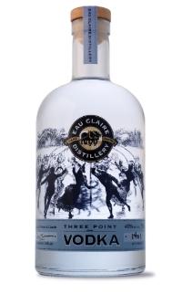 Three Point Vodka - Alberta Eau Claire Distillery