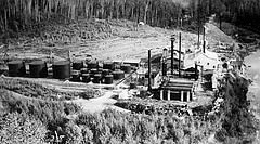 From humble beginnings - Alberta's oil sands industry can trace its roots back to Bitumount. The story of the pilot project north of Fort McMurray is just one chapter of Alberta's energy heritage found on Alberta Culture's new Energy Resources Heritage website, launched July 24 at the Oil Sands Discovery Centre in Fort McMurray.