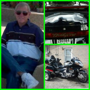 Caldwell and bike