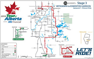 Stage 3 - Wetaskiwin to Edmonton