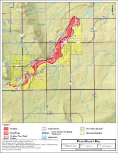 Turner Valley - Black Diamond Flood Hazard Map