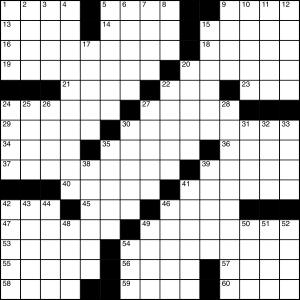 2014-10-28 Crossword Puzzle