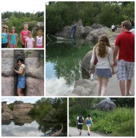 Calgary Zoo - prehistoric park