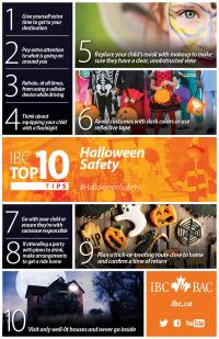 INSURANCE BUREAU OF CANADA - IBC Top 10 Halloween Safety Tips