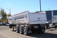 RCMP - gravel truck trailer