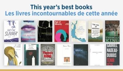 Canada Council Best Books 2014