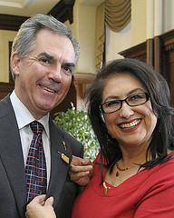 Premier Prentice - Moosehide Campaign