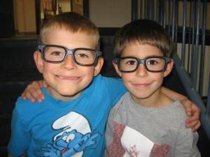 "Spitzee School's ""positive reframe"" glasses"