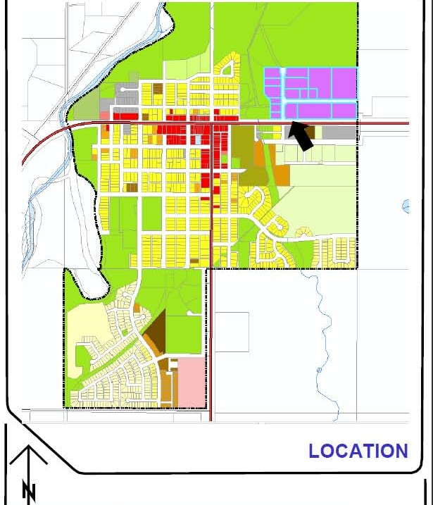 LUB map - Town of BD