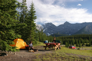 Tenting in Kananaskis Country is just one way to enjoy camping in Alberta Parks