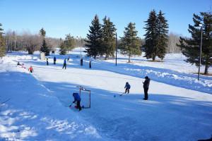 Alberta Parks - skating