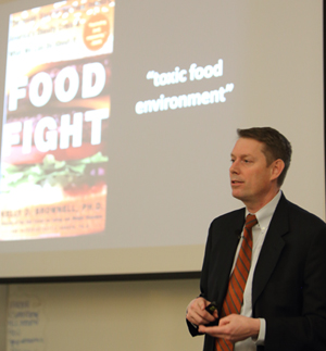 Oklahoma Sate University food economist Jayson Lusk reminded audience members at the annual Bentley Lecture that our current food system has vastly improved our lives.