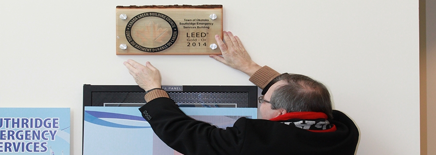 Southridge Emergency LEED award