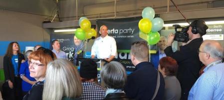 Alberta Party starts campaign
