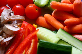 raw veggie snacks