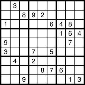 2015-09-12 Sudoku Puzzle