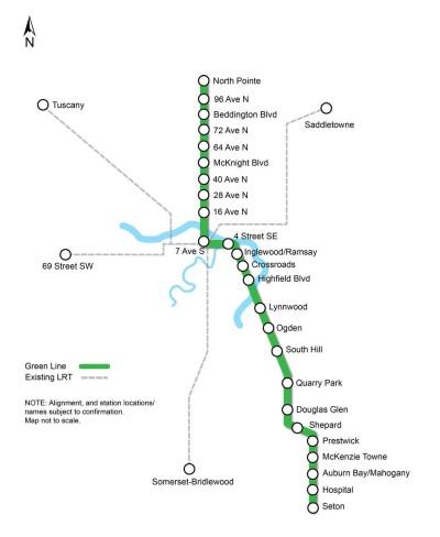 Greenline project - Calgary