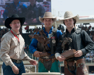 Novice Riders at Stampede -