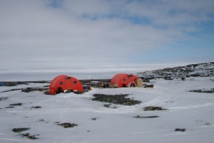 A field camp near Churchill during previous collaborative studies conducted by the universities of Manitoba and Calgary. Photo courtesy Brent Else