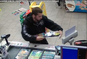male lottery theft
