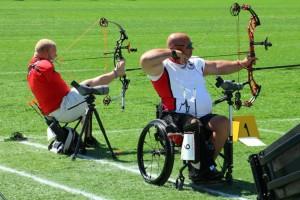 Toronto Parapan Games - archery