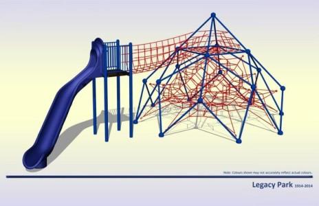 Legacy Park playground equipment