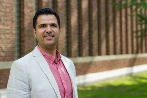 Ali Shiri (above) and co-investigator Dinesh Rathi want to bridge the information gap for some of Canada's most isolated people.
