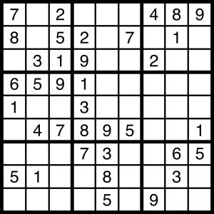 2015-11-07 Sudoku Puzzle