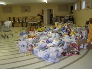 Fire Dept food drive