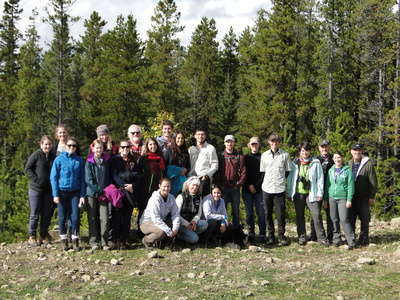 Fourteen Canadian veterinary medicine students take part in a field study in the final week of their elective course in ecosystem health as part of an annual two-week program offered to students at Canada's five veterinary schools.