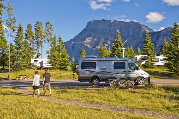 Camping in Canadas National Parks