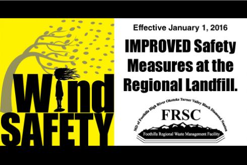 Wind Safety at the Landfill