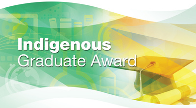 Aboriginal graduate students enrolled full-time in a master's or doctoral degree program in the 2015-16 winter semester are eligible for the Indigenous Graduate Award.