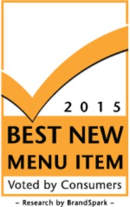 2015 Best New Menu Item (CNW Group/BrandSpark International)