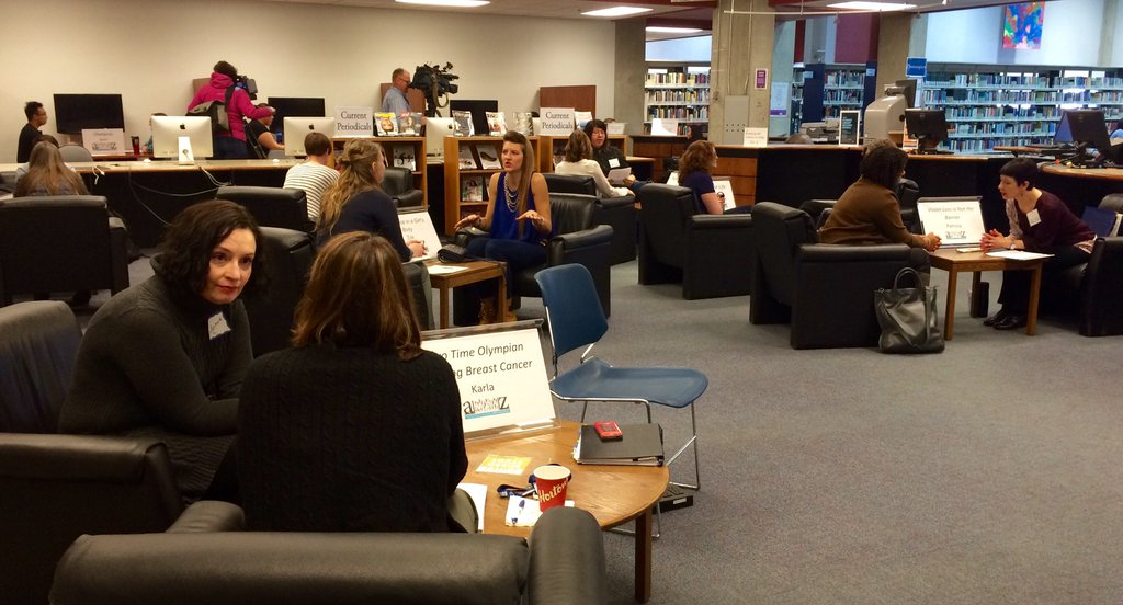 MRU Living Library event