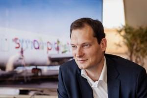 Small Planet Airlines CEO Vytautas Kaikaris