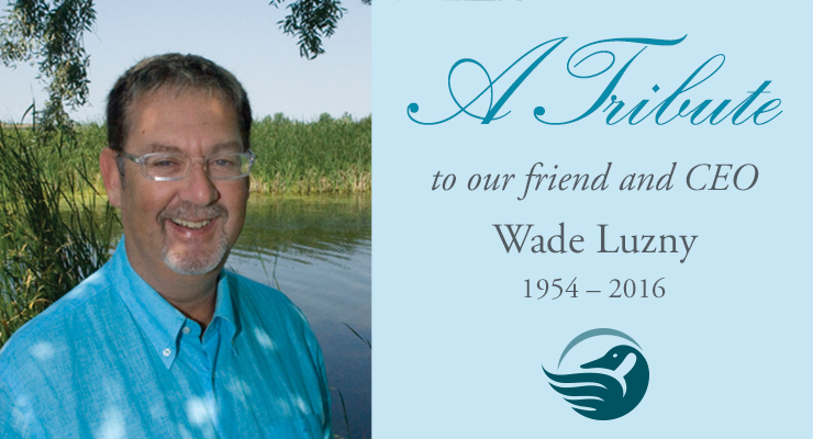 Tribute to Wade Luzny
