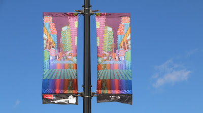 Calgary downtown banner art 1