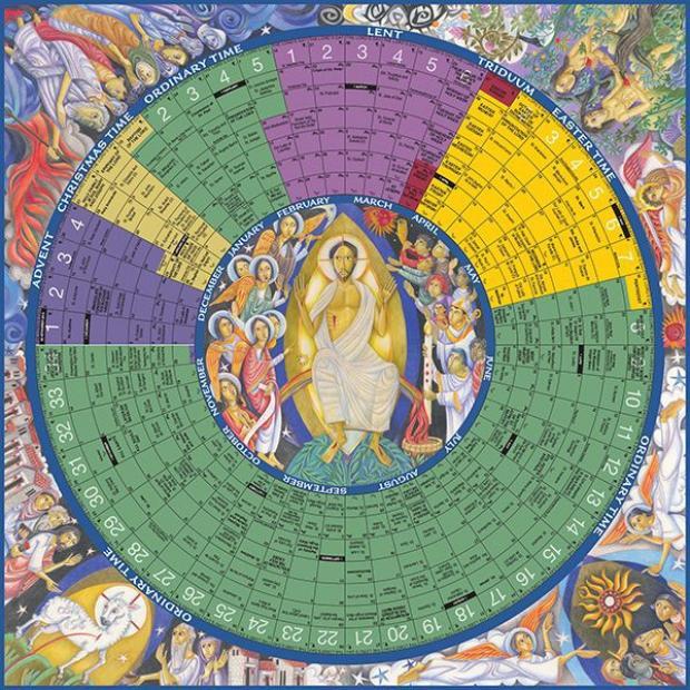 2016 Liturgical calendar