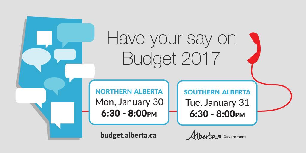 Budget 2017 Alberta