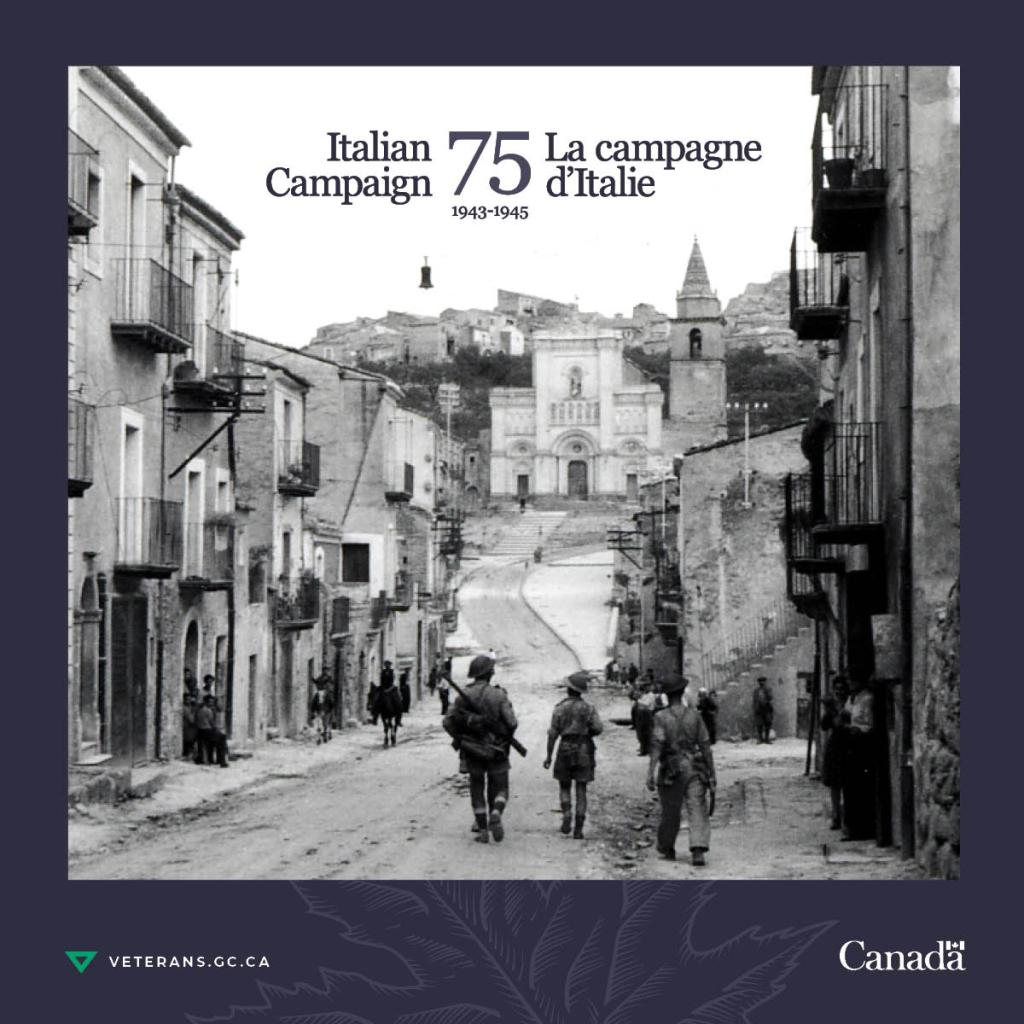 Canadian Veterans Return to Italy to Commemorate 75th Anniversary of the Italian Campaign