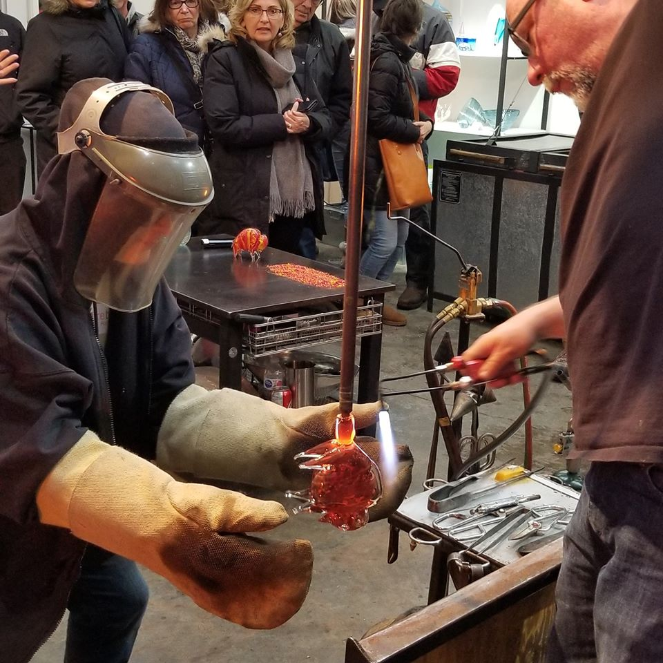 Firebrand Glass Hosted Another Successful Open House