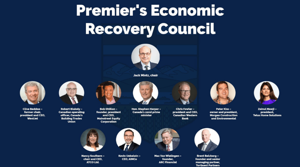Economic Recovery Council Gets to Work