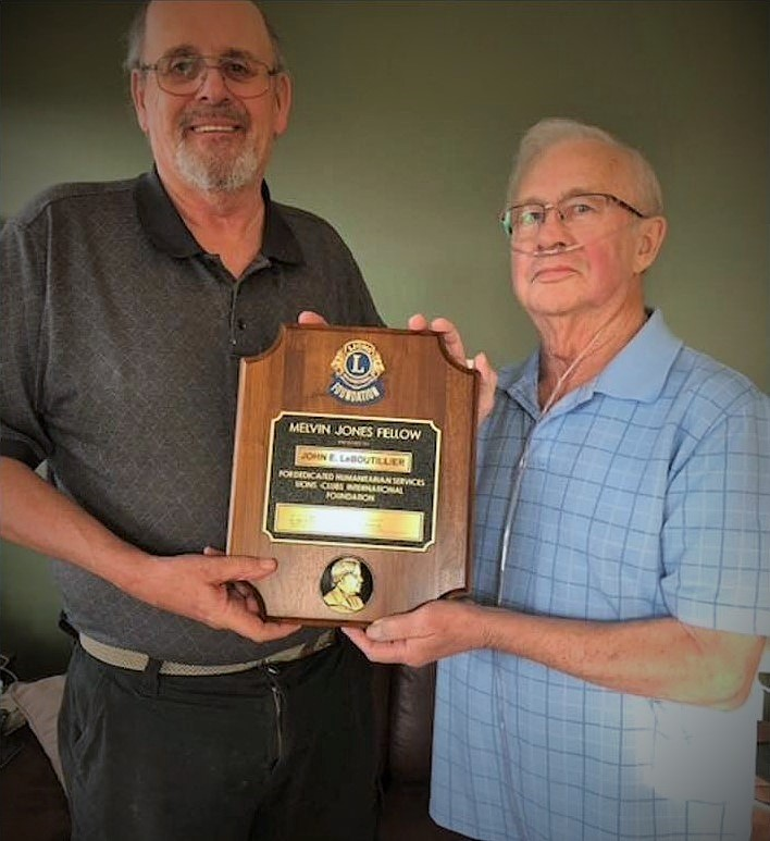 Dave Parson and John LeBoutillier