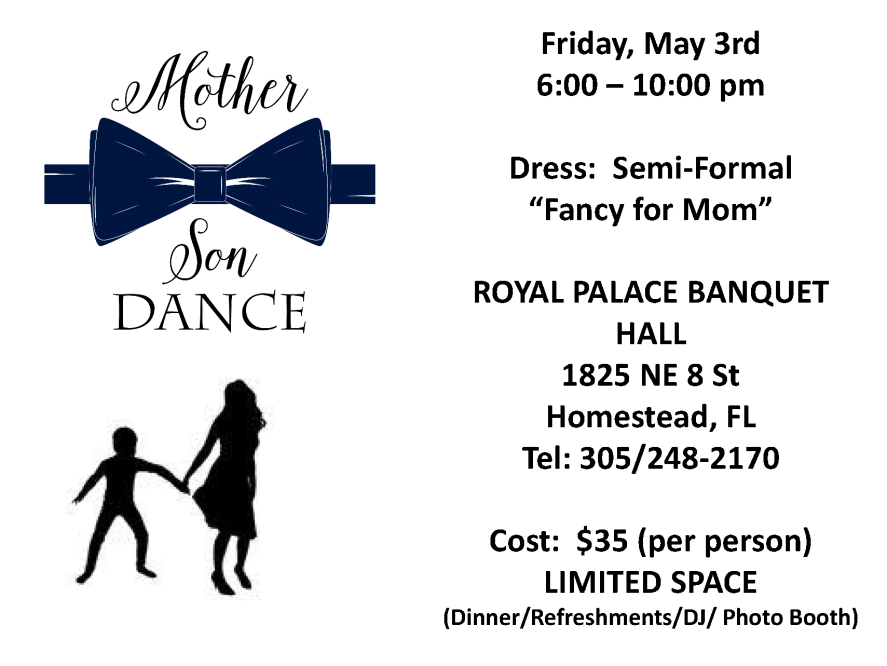 MOTHER SON DANCE - May 2019