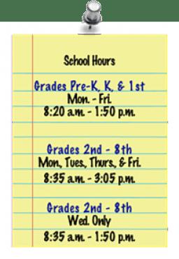 GK8-School Hours