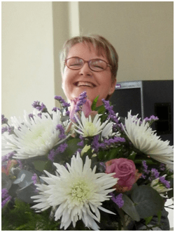 "Margie blossoms from her personalised message: ""Full of goodness and strength"""