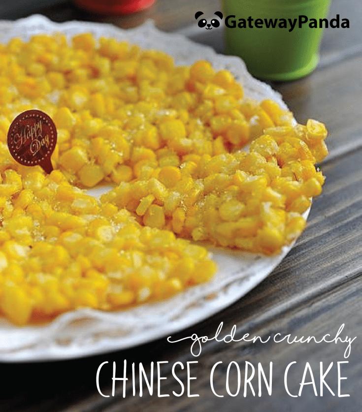 Chinese Corn Cake