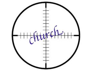 church crosshairs